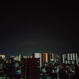 夜🌆散歩を終えて…