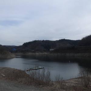 知明湖へ 9700歩