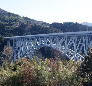 宮崎県の道の駅に立ち寄り!雄大な【青雲橋】に遭遇