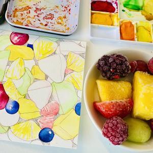 冷凍フルーツで気分の上がる朝食を
