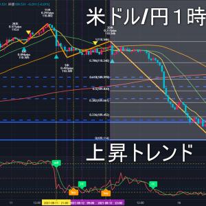 米ドル/円2021年8月18日(水)環境認識