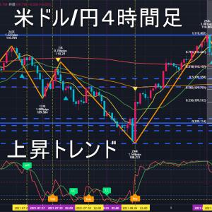 米ドル/円2021年8月19日(木)環境認識