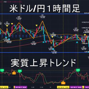 米ドル/円2021年9月2日(木)環境認識