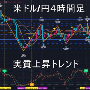米ドル/円2021年9月6日(月)の見通し