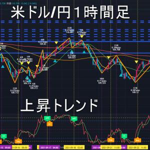 米ドル/円2021年9月27日(月)の見通し