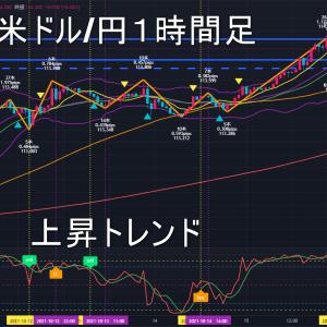 米ドル/円2021年10月19日(火)環境認識