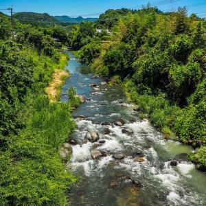 40歳父親、子供と川で遊んでたら溺れて死ぬ 熊本県菊池市の迫間川