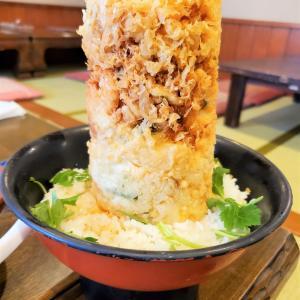 【魚河岸 丸天 富士店】富士の麓で味わう驚愕のデカ盛り『海鮮かき揚げ丼』