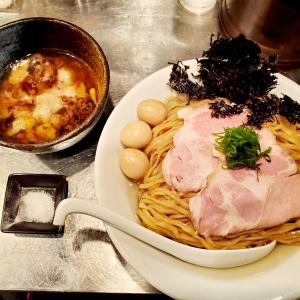 背脂含有率80%!上野『さんじ』の限定メニュー「背脂Curryつけ蕎麦」