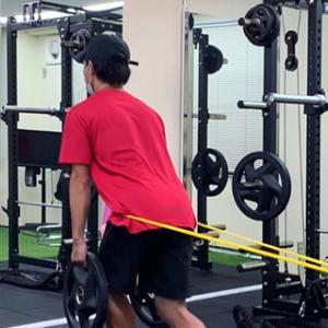 テニスのためにトレーニング!体の動きが良くなりました!