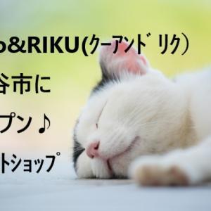クーアンドリクCoo&RIKUが刈谷市にオープン!ペットショップ・トリミング