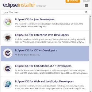 eclipse Embedded CDTでAMR用のベアメタル開発環境を作ってみる