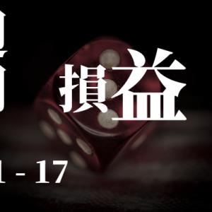 【週間損益】1/11 - 1/17 +747.66ドル(含損-2,798.83ドル)