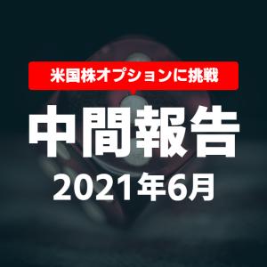 【損益・中間報告】6月+2,350.45ドル(含損-762.71ドル)