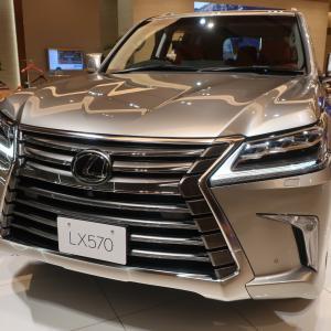 国産車最高級SUV レクサス LX とは