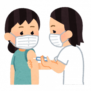 インフルエンザ予防接種2021年完了 去年は接種難民で苦労しました