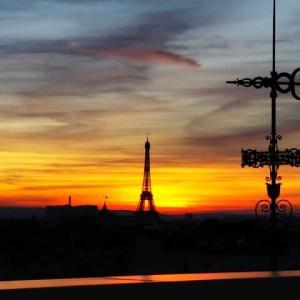 パリ最終日はカフェの朝食でスタート