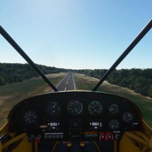 フライトシムで学ぶ飛行機の飛ばし方  その2 飛行機の構造
