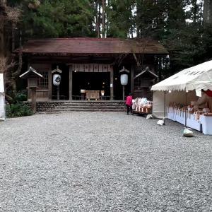 浜松のパワースポット巡り:秋葉山本宮秋葉神社 下社