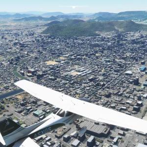 フライトシムで日本一周 レグ119 徳島空港→高松空港