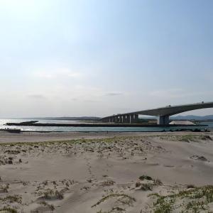 浜松の観光地巡り:舞阪表浜と防潮堤