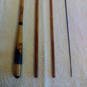 師光(二代目) 特作高野竹 10.1尺 口巻 籐・西陣織握り