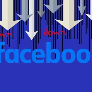 フェイスブック アップルのプライバー変更の影響で急落