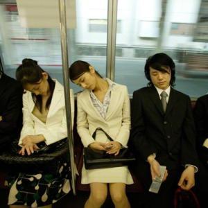 毎朝の通勤電車