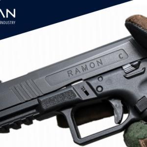 Emtan製ポリマーフレームの新型拳銃 ラモン
