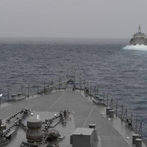 ☆海自とインドネシア海軍 自由で開かれたインド太平洋訓練