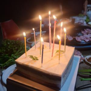 年齢的にもう嬉しくないけどやっぱり誕生日は幸せ