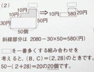 SAPIX6年生 算数61-16