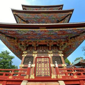 【成田山新勝寺祇園会②気になった景色の理由と三重塔の意味】