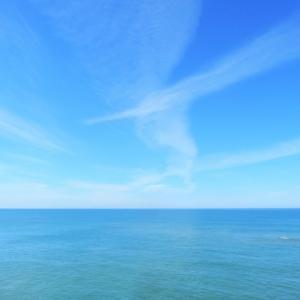 青い空、広い海、「生きてるってスバラシイ!ヤッホー!」な気分の今朝の話。