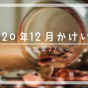 2020年12月 節約サラリーマン家庭の家計簿公開 【夫婦2人暮らし】