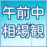 06月18日(金)日経225ミニ先物 午前中の相場観
