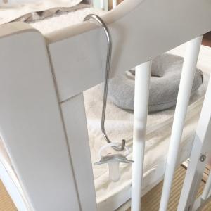 簡単に作った赤ちゃんのおもちゃ置き場