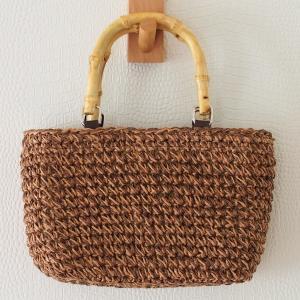 【しまむら】990円!夏に似合う「かごバッグ」、軽くて普段使いにぴったり