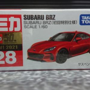 6月のトミカの日の新車《初回特別仕様》【No.28 スバル BRZ】☆