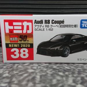 トミカ No.38 【AUDI R8 COUPE (初回特別仕様)】 ☆
