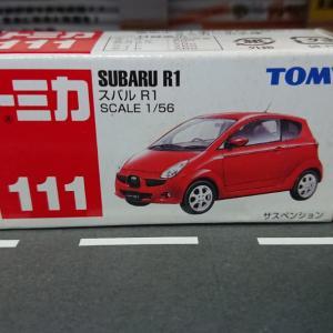 トミカNo.111 『スバル R1』☆