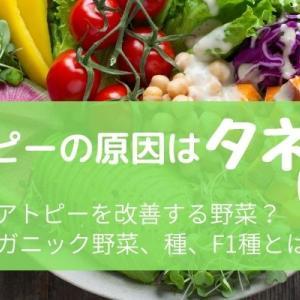 知ってますか?アトピーの原因は「種」にあった②  免疫力を上げる!オーガニック野菜、種、F1種とは?
