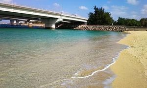 【沖縄】那覇の観光スポット「波の上ビーチ」には奇人変人が集まってくる