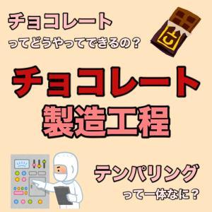 チョコレートってどうやってできるの?チョコレートの製造工程を徹底解説!!