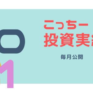 【公開】こっちー投資実績(2021.7月末時点)
