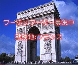フランスワーホリ求人情報