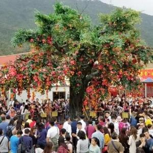 【香港最新情報】「春節恒例の願掛け祭り「許願節」が中止、11年来で初」