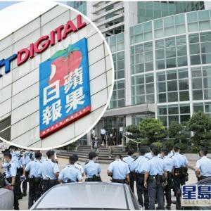 【香港最新情報】「『りんご日報』、運転資金は数週間分」