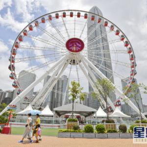 【香港最新情報】「セントラルの観覧車「香港摩天輪」、期間限定で無料乗車」