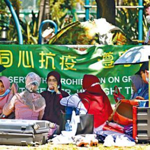 【香港最新情報】「家政婦の平均月給、コロナで上昇」